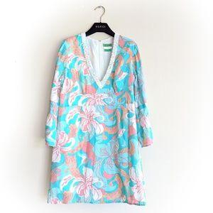 Tibi Floral Beaded Dress - Medium